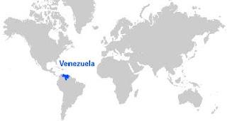 Gambar Peta letak Venezuela