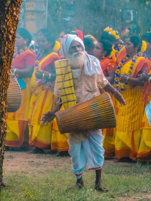 Santali folk dance