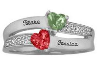 Infinity Symbol Promise Ring