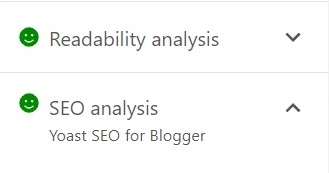 SEO Check Yoast SEO for blogger website