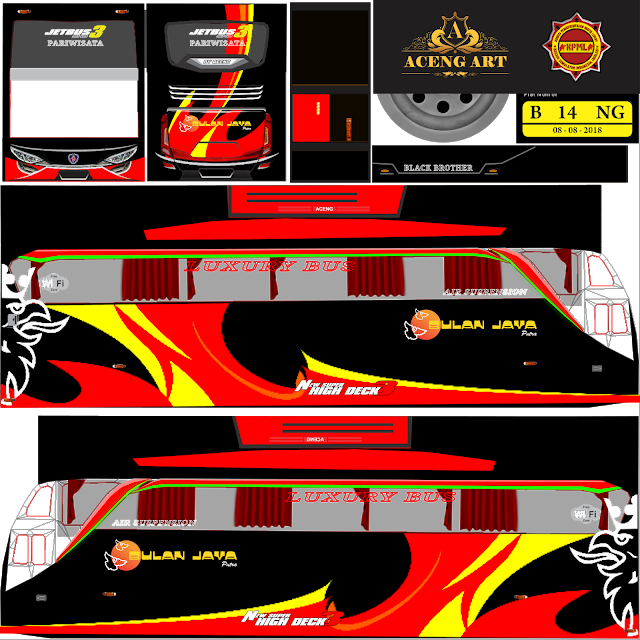 Download 23+ Livery / Template BUSSID (Bus Simulator Indonesia