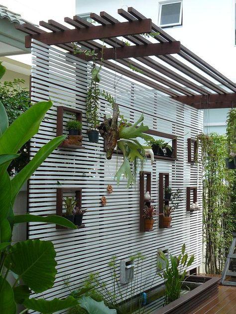 Como Decorar paredes con Plantas by artesydisenos.blogspot.pe