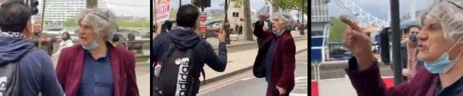'You Kill Balochi, You Kill Hazara': UK's Free Palestine Protestor Clashes With Pakistani Protestors; Watch