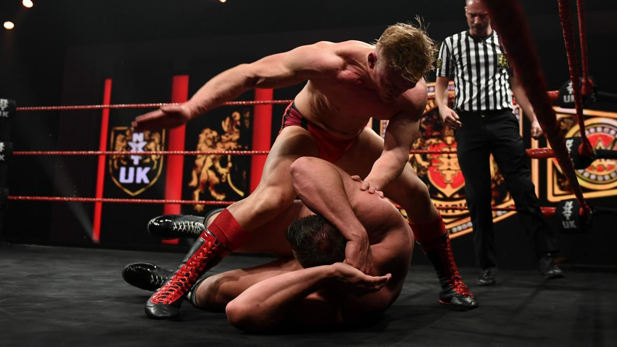 WALTER and Ilja Dragunov on WWE NXT UK