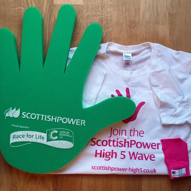 race for life scottish power