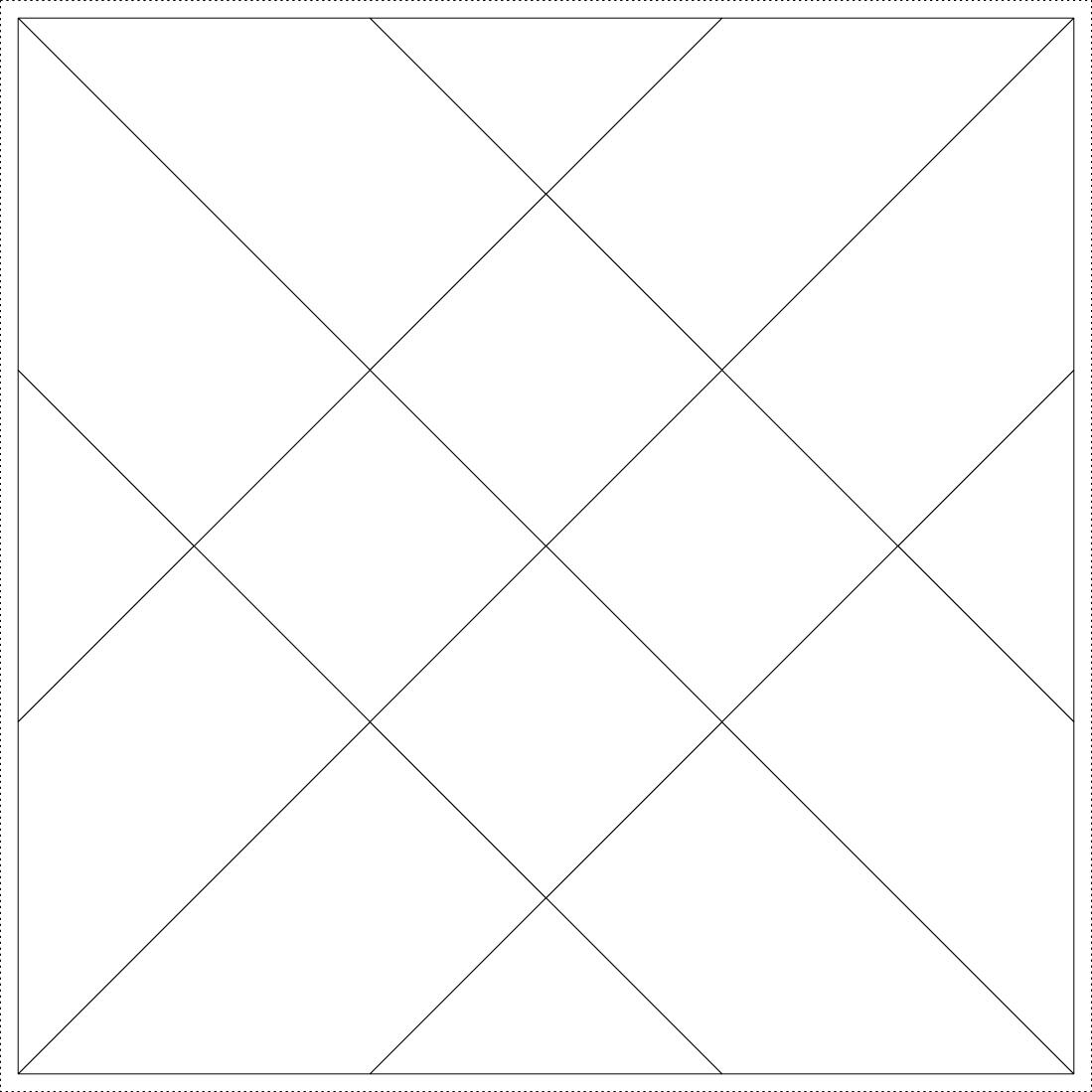 Imaginesque  Quilt Block 15  Templates For Epp  Fabric