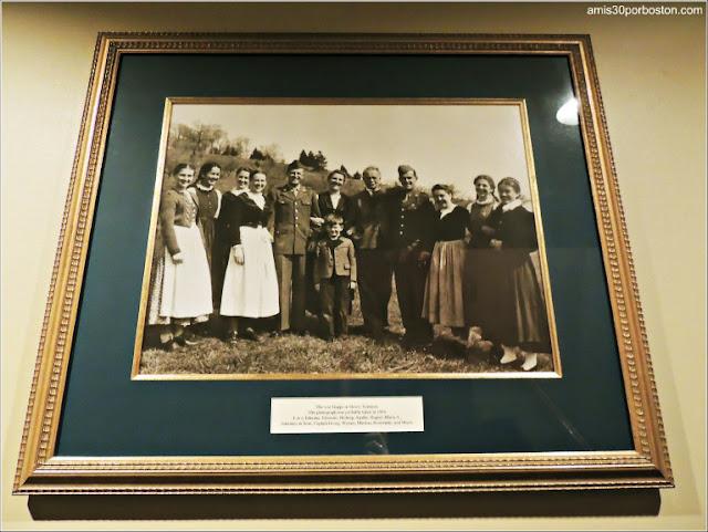 Fotografias de la Familia Trapp en el Trapp Family Lodge en Stowe, Vermont