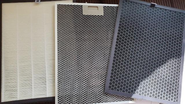 PerfectAir Sense Air Purifier different filter screens