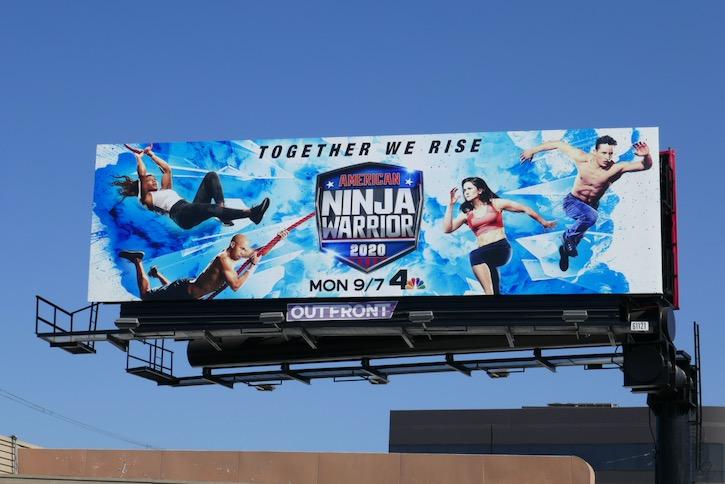 American Ninja Warrior season 12 billboard