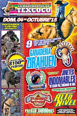 rodeo en texcoco 4 de octubre
