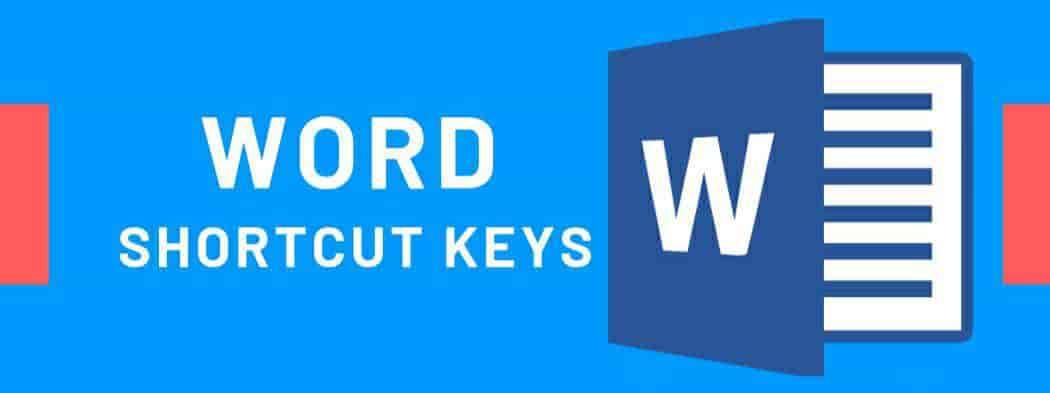 Microsoft Word Shortcut keys - PDF