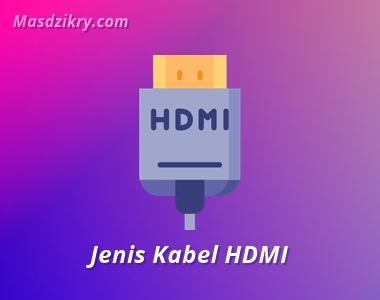 Jenis kabel HDMI