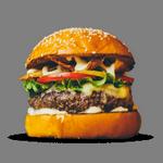 hamburger fast food in spanish