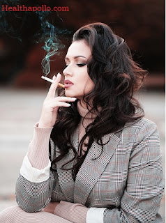 Womem smoking Quit