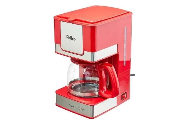 Cafeteira Ph16 15 xicaras Philco Vermelho