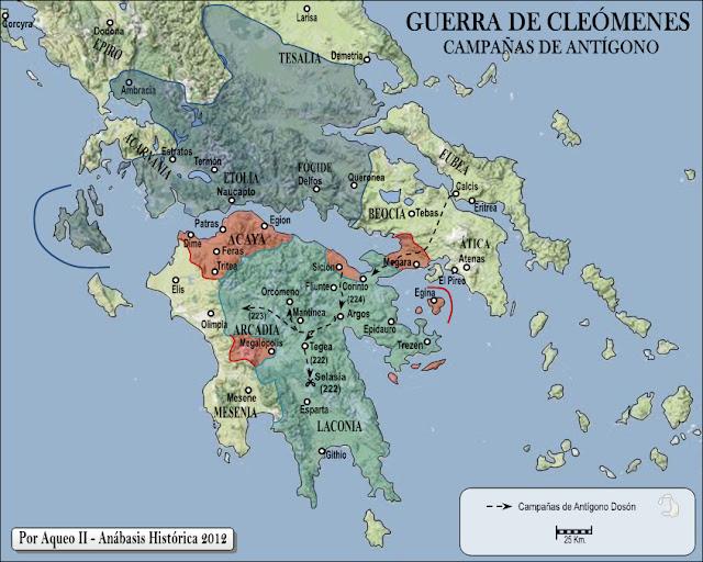 Resultado de imagen de campaña de pirro en el peloponeso