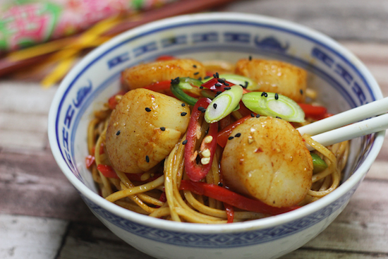 Chinese scallops recipes