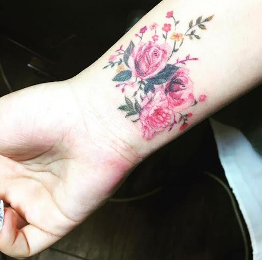 Este floral pulseira
