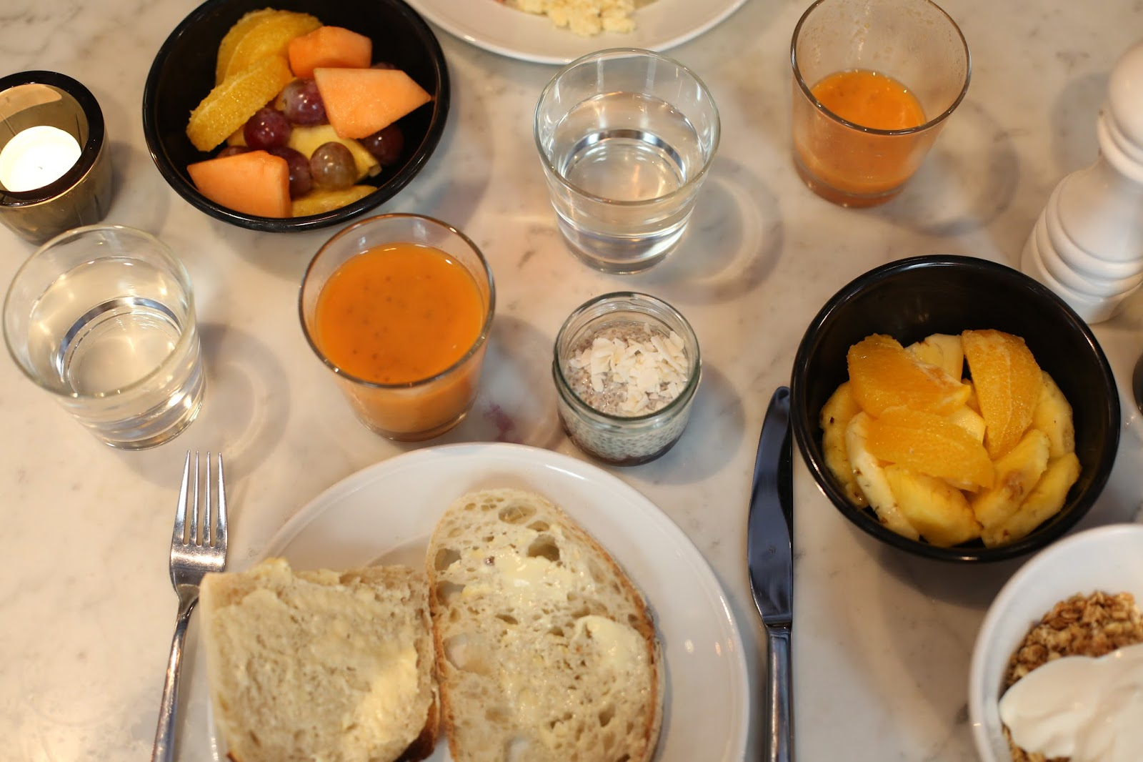 breakfast at urban deli