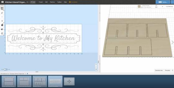 Kitchen Utensil Organizer EASEL Design
