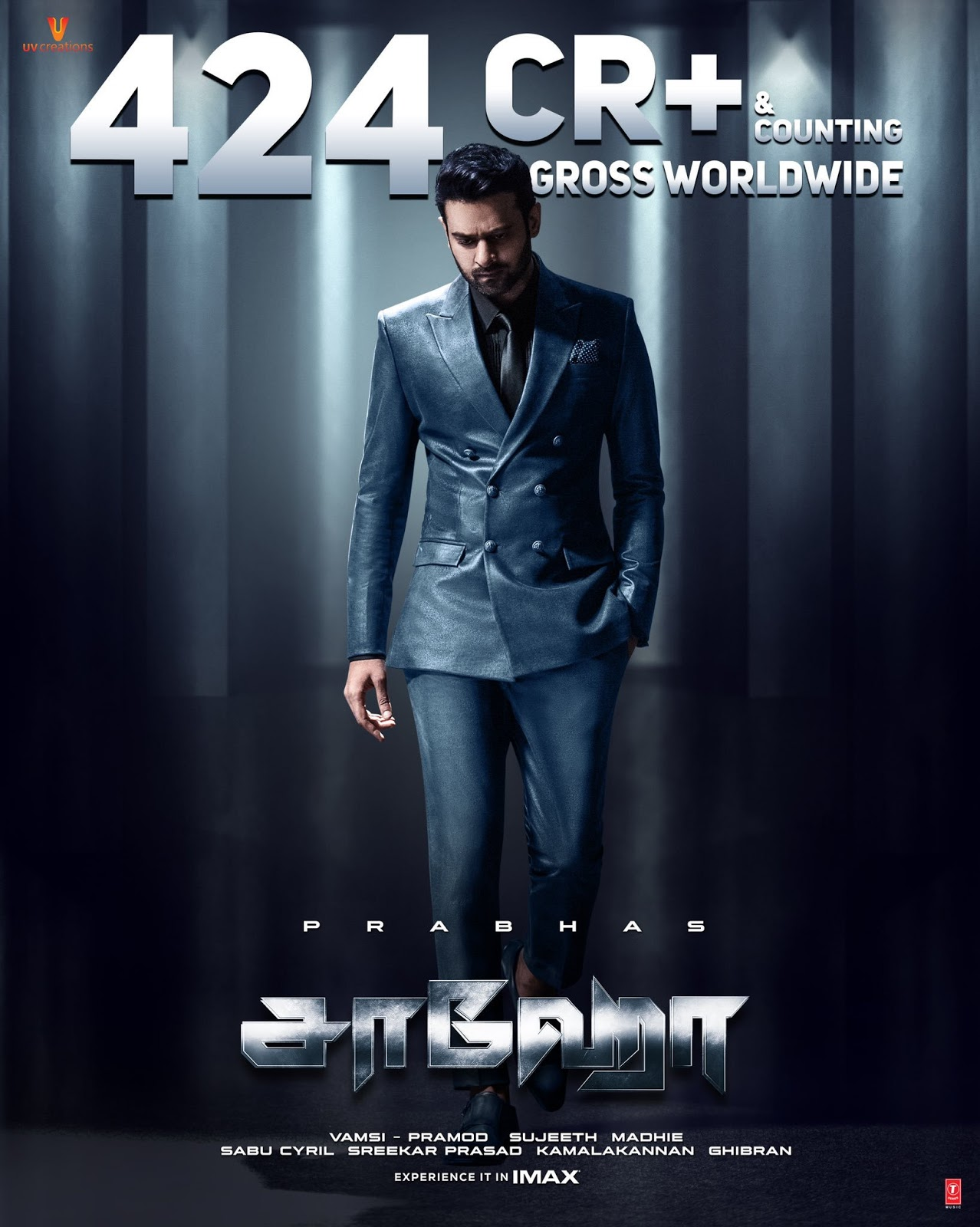Saaho (2019) Hindi ORGINAL  Full Movie Download HD-Rip   – 480P | 720P  – x264 – 1.5GB – Download