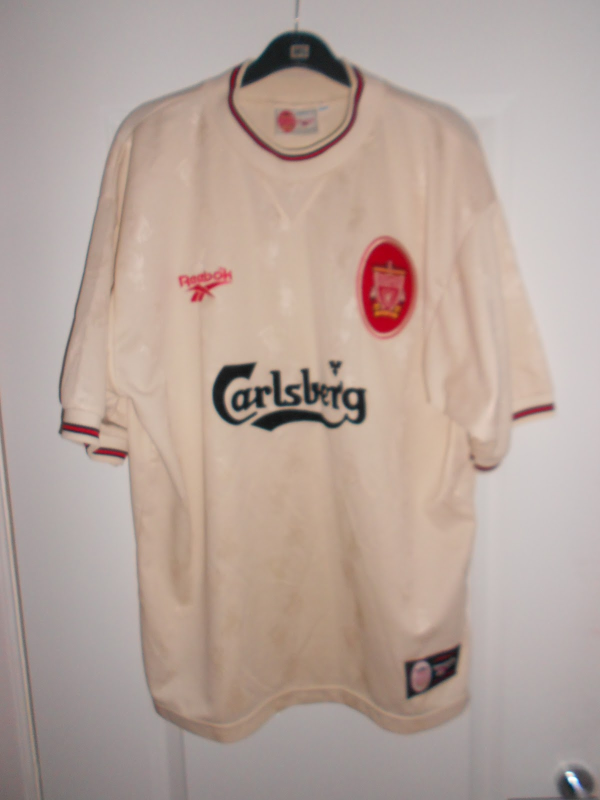42c4bcd2d7b My collection of football shirts  Liverpool Away 1996-1997