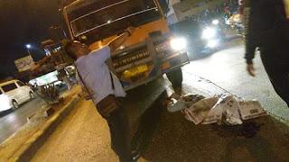 Lakalantas: Pengemudi sepeda Motor Tewas Ditempat Terlindas Truck Tanah