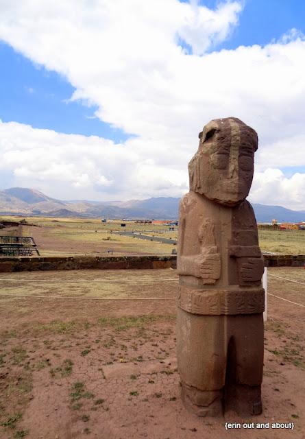 {ErinOutandAbout} Visit Bolivia: Tiwanaku
