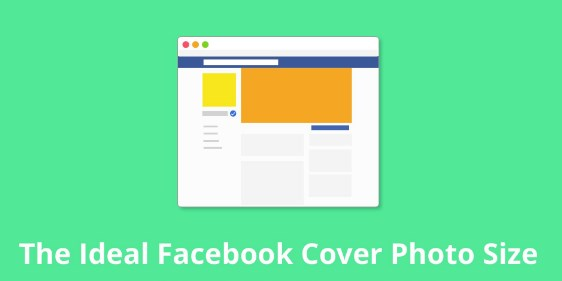 Facebook cover photo size dimensions