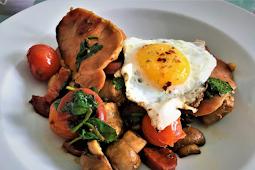 Tasty Full English Breakfast with a Twist