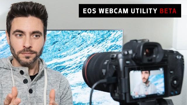 EOS Webcam Utility: Da oggi potrai trasformare la tua fotocamera Canon in una webcam