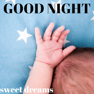 Baby good night image, cute baby good night image