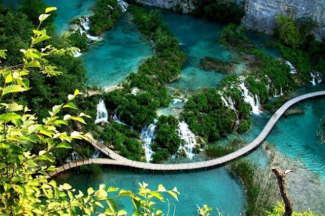 Plitvice Lakes, Taman Legenda yang Benar-benar Ada
