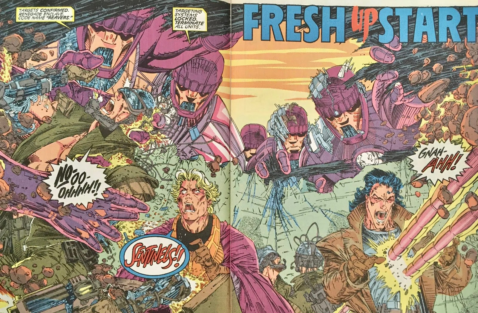 Details about  /Uncanny X-Men 281 New Team Claremont Jim Lee Portacio 1st App of Trevor Fitzroy