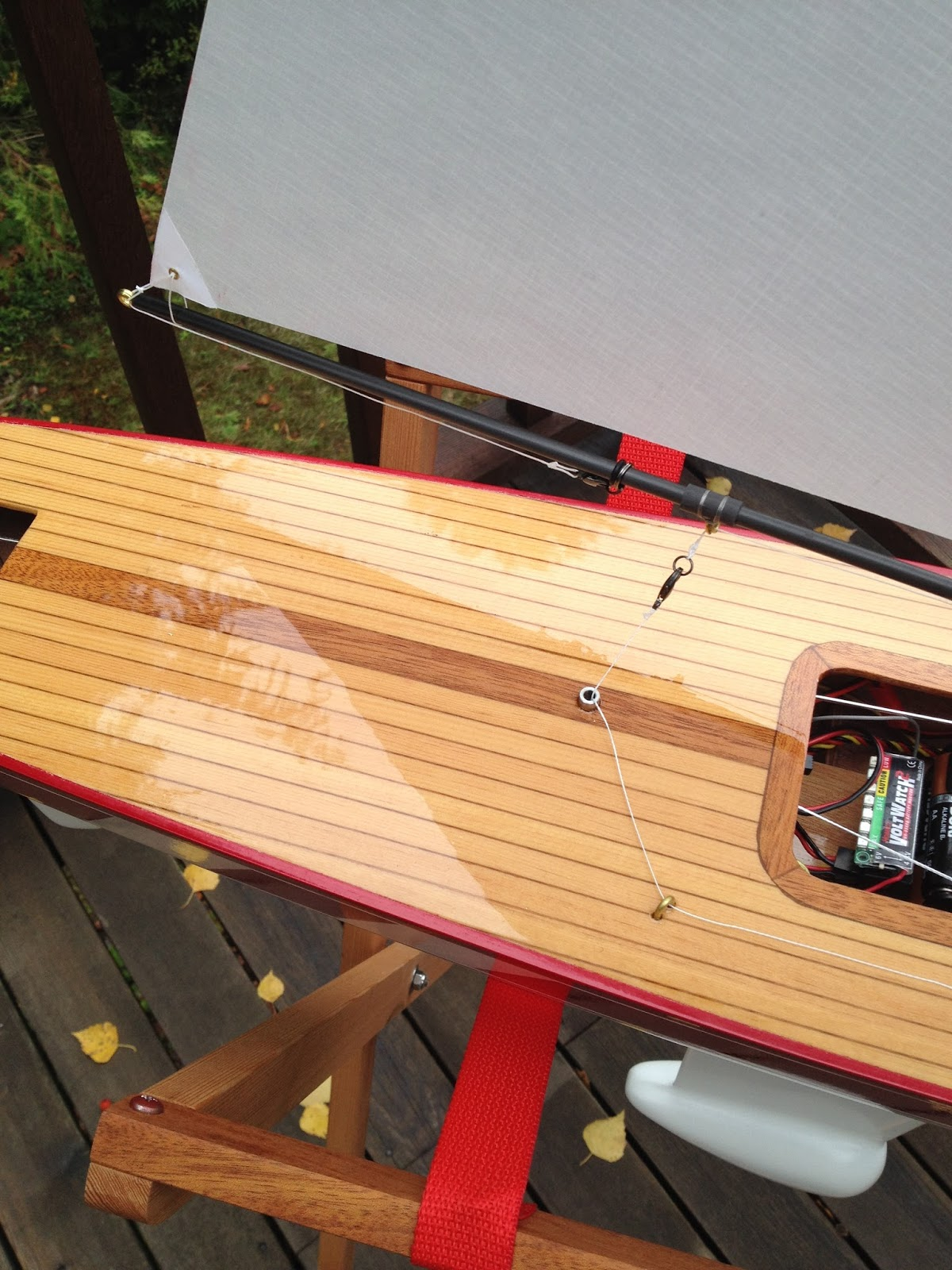 R/C Sailboat Builds