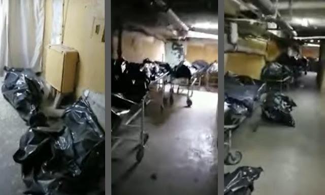 Трупы на полу: подвал барнаульской больницы завален умершими от коронавируса