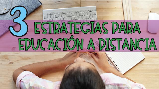 3 estrategias para la educación en línea