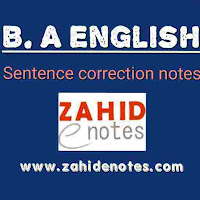 B.A English Grammar Rules PDF