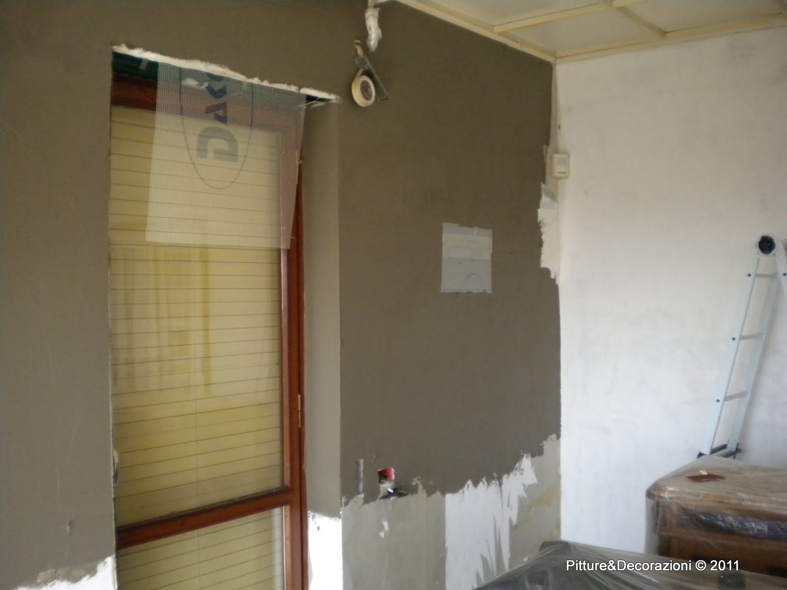 Pitture decorazioni coibentazione interna - Coibentazione parete interna ...