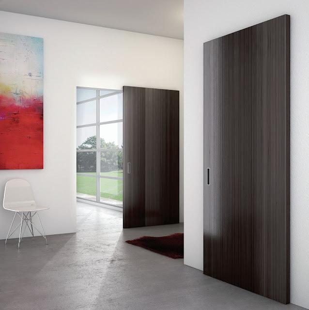 cửa gỗ trượt hiện đại