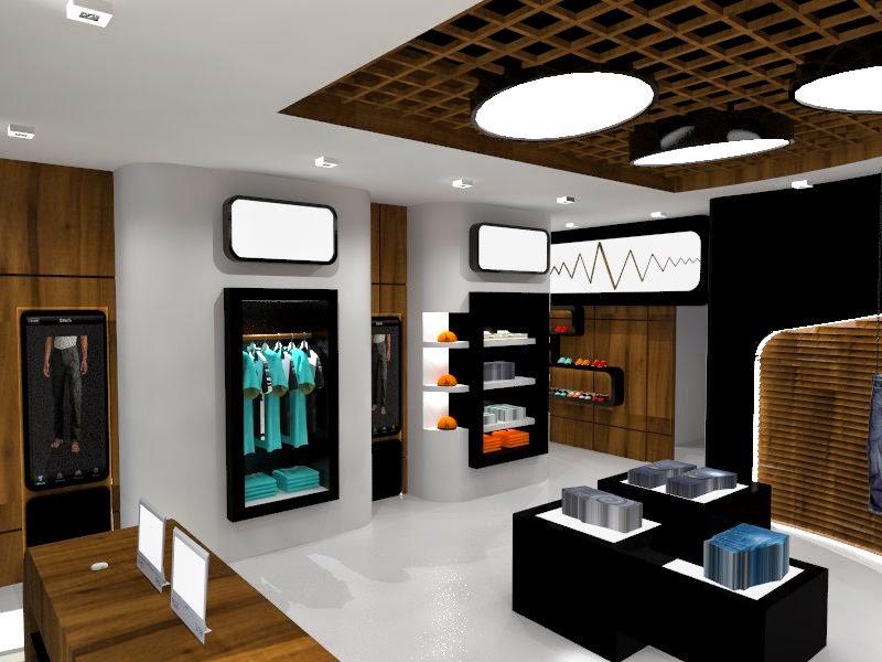Dise o de interiores escuela de arte de motril tienda de for Diseno de interiores almacenes de ropa