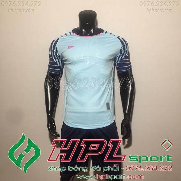 Áo bóng đá ko logo Eureka HAT VC  Màu Xanh Ngọc