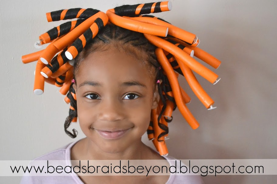 Beads, Braids And Beyond: Little Girls Natural Hairstyle