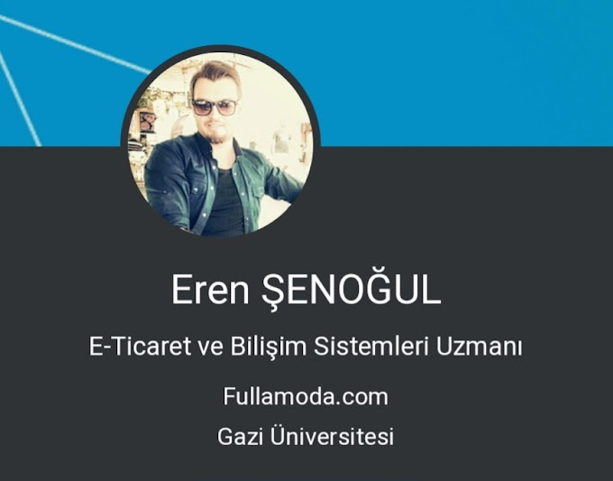 E-Ticaret blog sayfası erensenogul.com açıldı