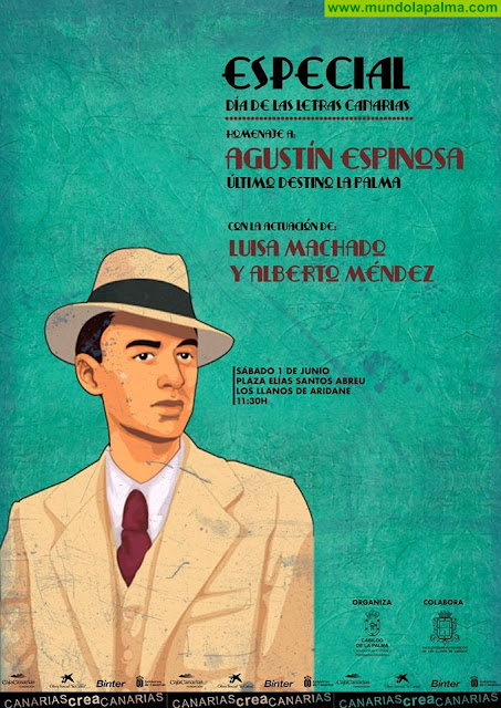 Agustín Espinosa. Último destino: La Palma