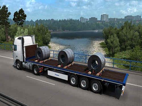 Euro Truck Simulator 2 Krone Trailer Pack Game Free Download