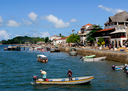 Lamu Archipelago on the Kenyan Coast