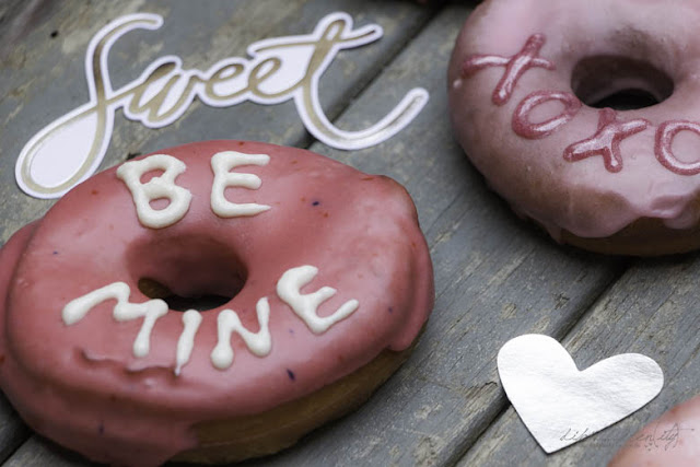 Donuts mit Message - Ruf mich an!