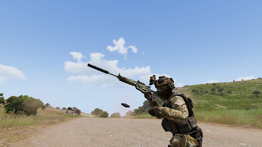 Arma3で空の弾倉を地面に落とすMOD