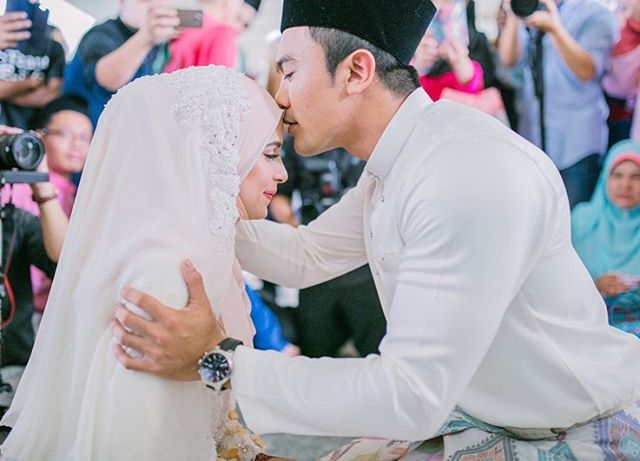 Gambar Pernikahan Saharul Ridzwan dan Qaabila Deena2